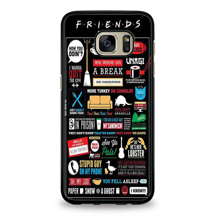 Friends TV Series Samsung Galaxy S7 | yukitacase.com