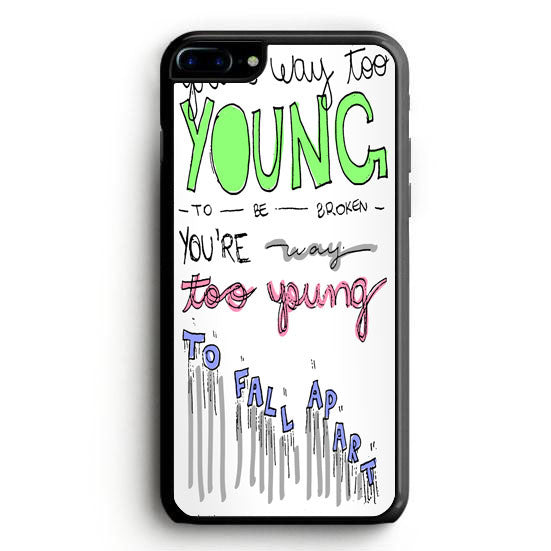 3OH!3 - I'm Not the One Lyric Cover iPhone 6 Plus Case | yukitacase.com