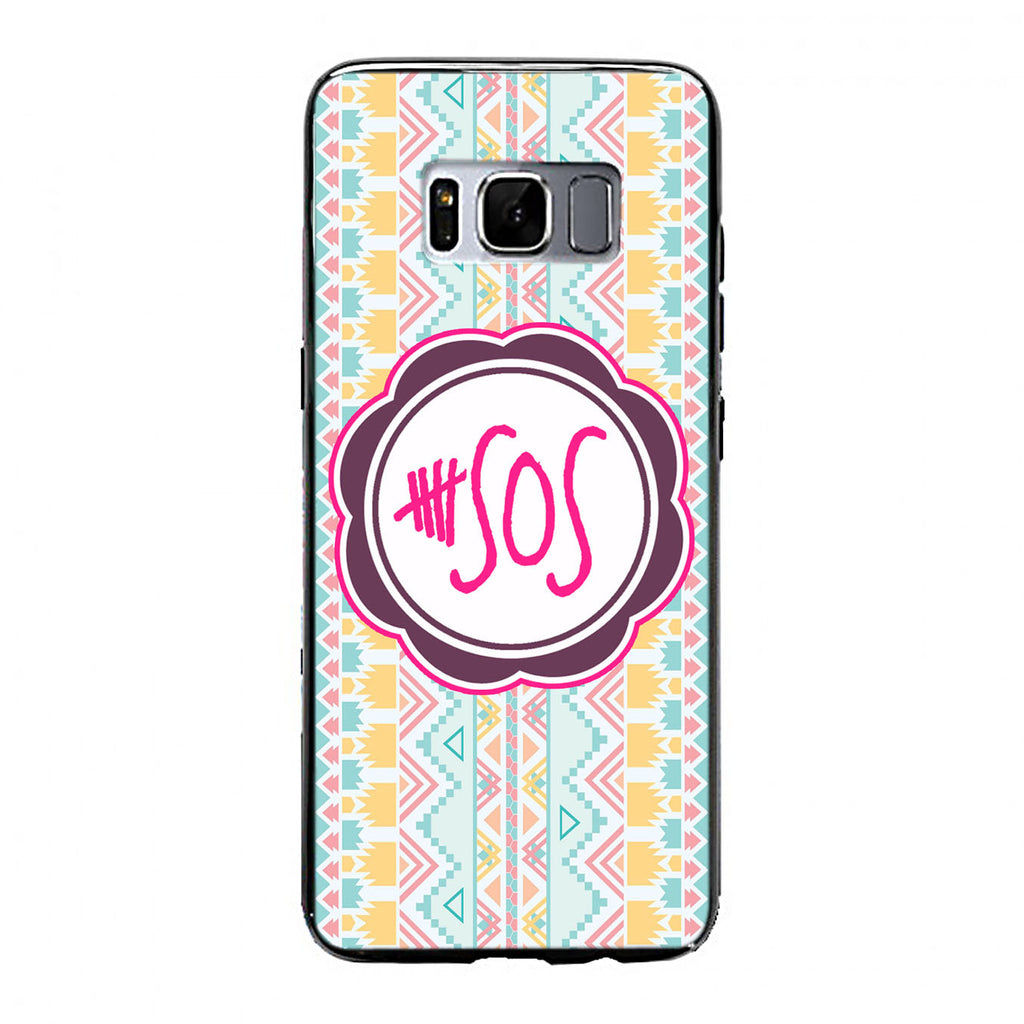 5 second of summer 5 sos Samsung Galaxy S8 Case | yukitacase.com