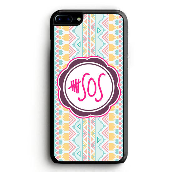 5 second of summer 5 sos iPhone 7 Case | yukitacase.com