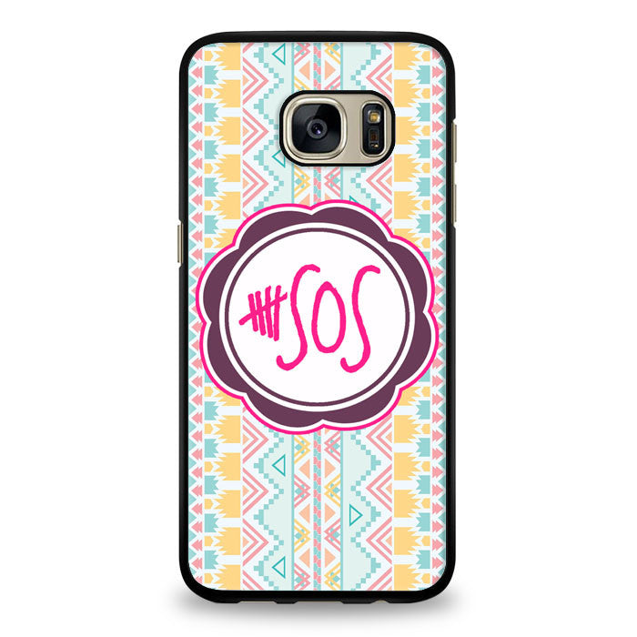 5 second of summer 5 sos Samsung Galaxy S7 Edge Case | yukitacase.com