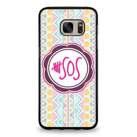 5 second of summer 5 sos Samsung Galaxy S6 Edge Case | yukitacase.com