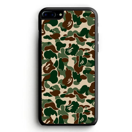 Bape Camo Gorilla Glasses iPhone 6S Plus | yukitacase.com