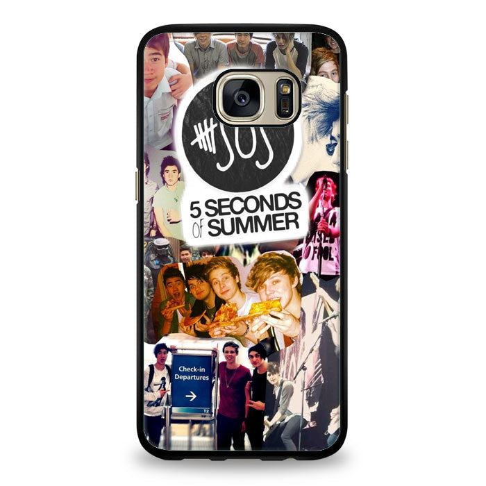 5 Seconds of Summer Samsung Galaxy S7 Edge Case | yukitacase.com