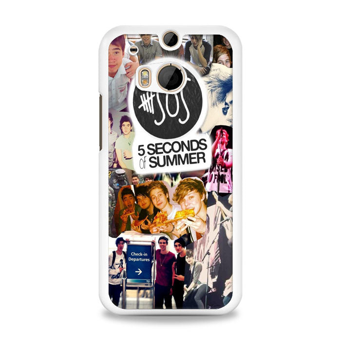 5 Seconds of Summer HTC One M8 Case | yukitacase.com