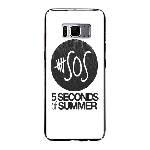 5 Seconds of Summer (5sos) Logo Samsung Galaxy S8 Plus Case | yukitacase.com