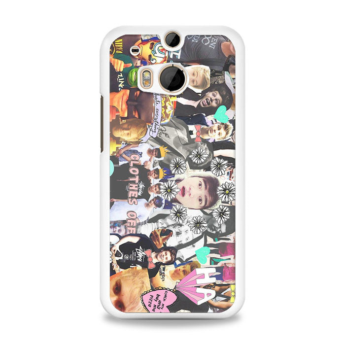 5 Seconds of Summer (5sos) Logo HTC One M8 Case | yukitacase.com