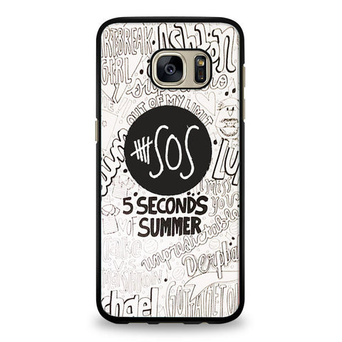 5 Seconds Of summer collage Samsung Galaxy S6 Edge Case | yukitacase.com