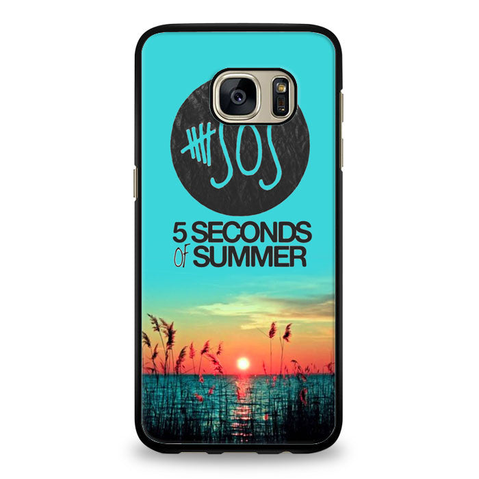 5 Seconds of Summer collage (5sos) Samsung Galaxy S7 Edge Case | yukitacase.com