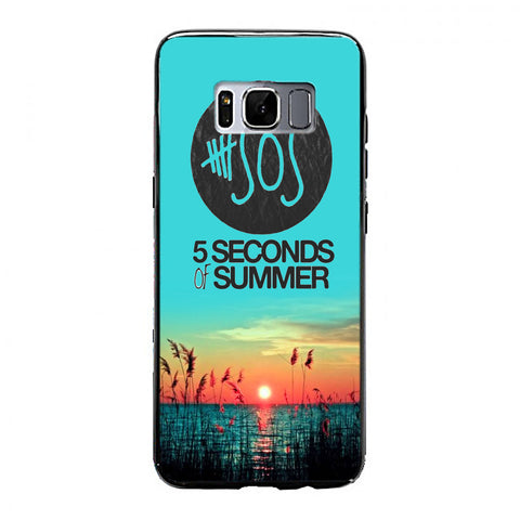 5 Seconds of Summer meadow logo (5sos) Samsung Galaxy S8 Plus Case | yukitacase.com