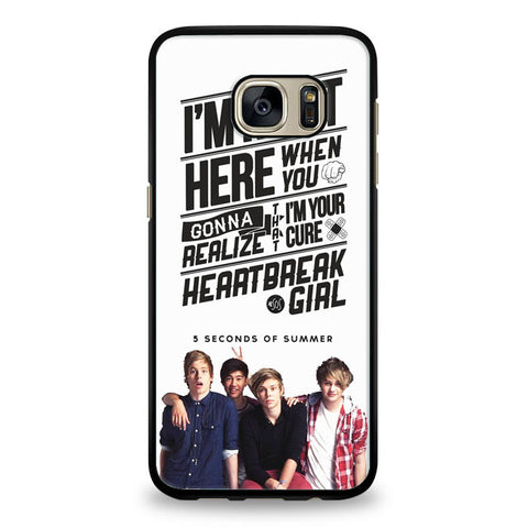 5 Seconds of Summer meadow logo (5sos) Samsung Galaxy S7 Case | yukitacase.com