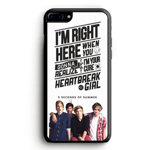 5 Seconds of Summer meadow logo (5sos) iPhone 7 Plus Case | yukitacase.com