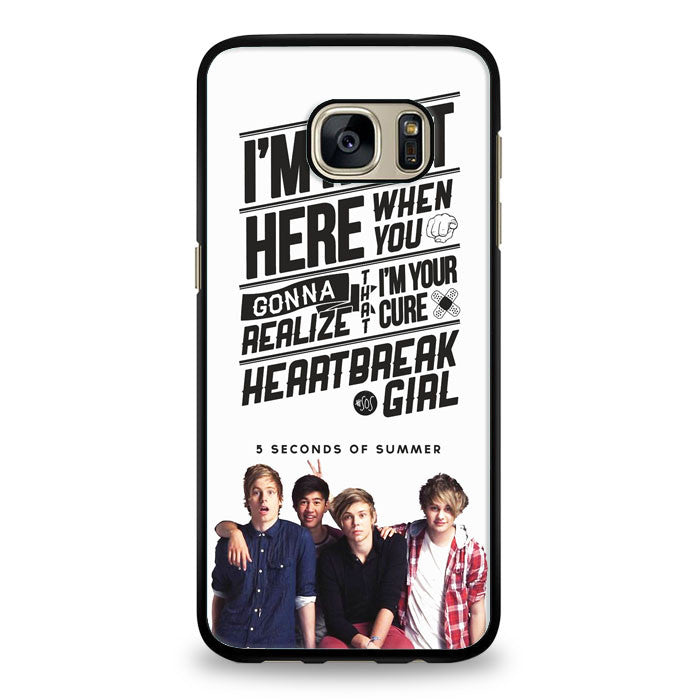 5 Seconds of Summer meadow logo (5sos) Samsung Galaxy S7 Edge Case | yukitacase.com