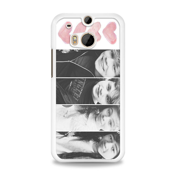 5 seconds of summer with quotes HTC One M8 Case | yukitacase.com