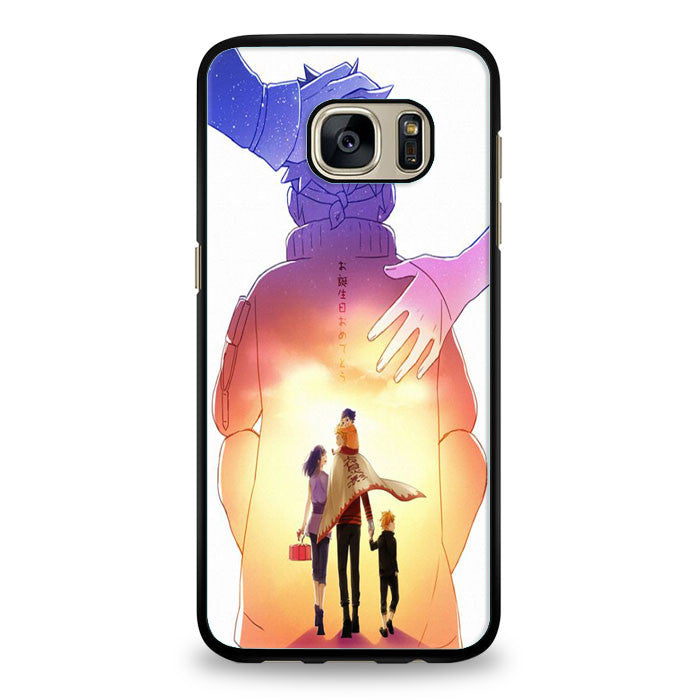 Boruto Hinata Naruto Himawari Naruto We are Proud of You Samsung Galaxy S6 Edge | yukitacase.com