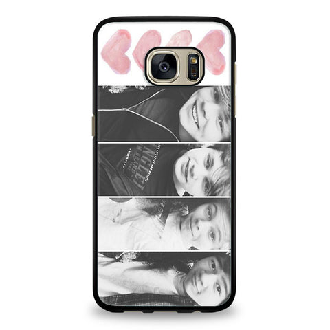 5 seconds of summer with quotes Samsung Galaxy S7 Edge Case | yukitacase.com