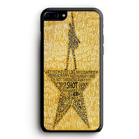 Hamilton Musical Lyric iPhone 6S Plus | yukitacase.com