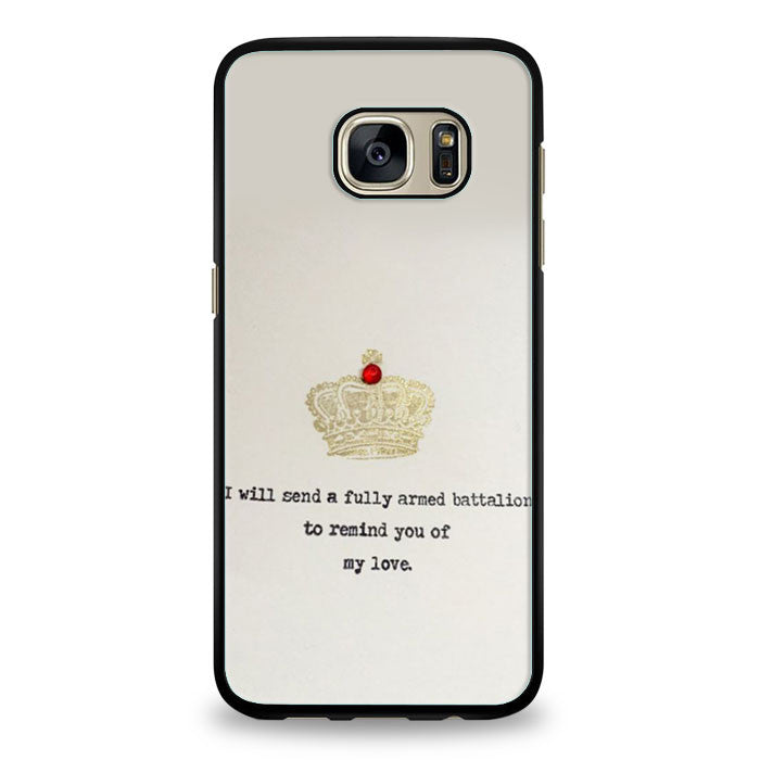 Hamilton Musical Remind You of My Love Samsung Galaxy S7 | yukitacase.com