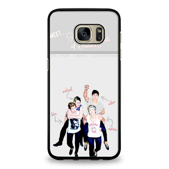 5 sos meet Samsung Galaxy S6 Edge Plus Case | yukitacase.com