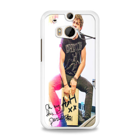 5SOS Ashton Irwin Signature HTC One M8 Case | yukitacase.com