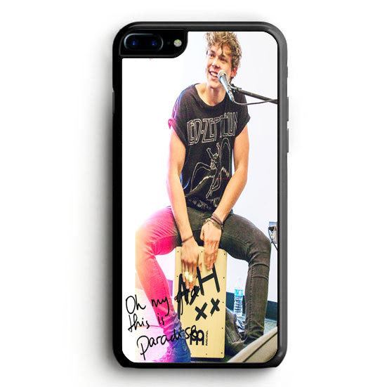 5SOS Ashton Irwin Signature iPhone 7 Plus Case | yukitacase.com