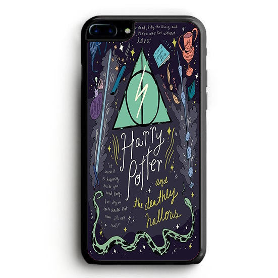 Harry Potter and the Deathly  iPhone 7 Plus | yukitacase.com