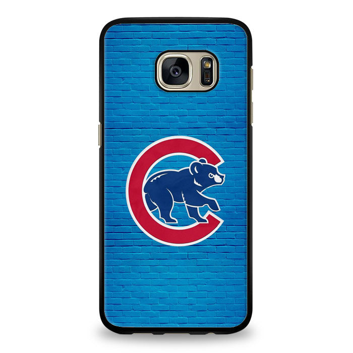 Chicago Cubs Wallpaper Iphone Samsung Galaxy S7 Edge Case Yukitacase Com Yukita Case