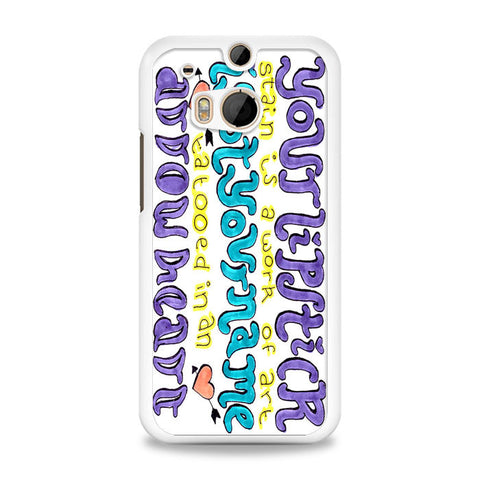5SOS She Looks So Perfect Cover HTC One M8 Case | yukitacase.com