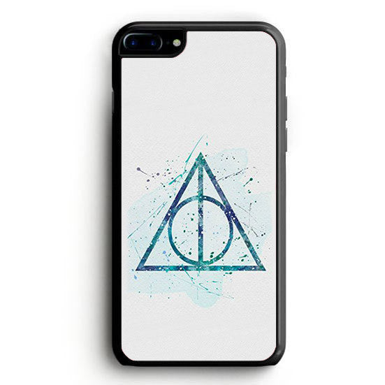 Harry Potter Deathly Hallows symbol iPhone 7 Plus | yukitacase.com