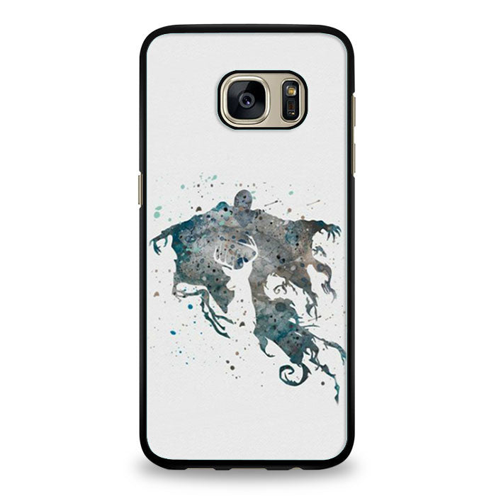 Harry Potter Deer and Dementor Samsung Galaxy S6 Edge | yukitacase.com