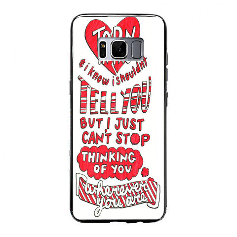 5SOS Wherever You Go Cover Samsung Galaxy S8 Plus Case | yukitacase.com