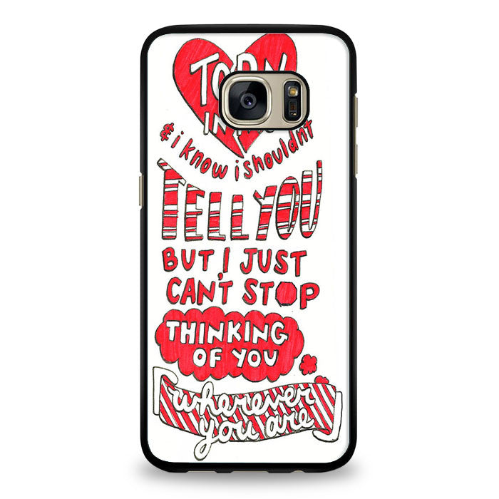 5SOS Wherever You Go Cover Samsung Galaxy S6 Case | yukitacase.com
