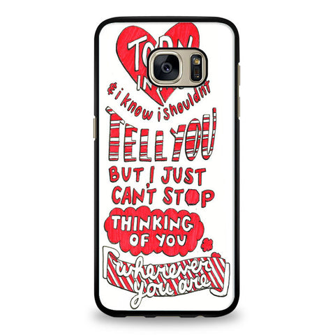 5SOS Wherever You Go Cover Samsung Galaxy S6 Edge Case | yukitacase.com