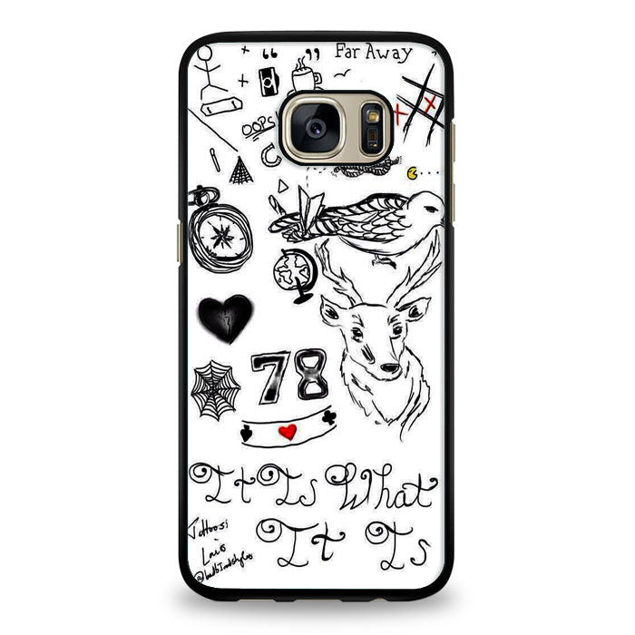 78 Collage Samsung Galaxy S7 Edge Case | yukitacase.com