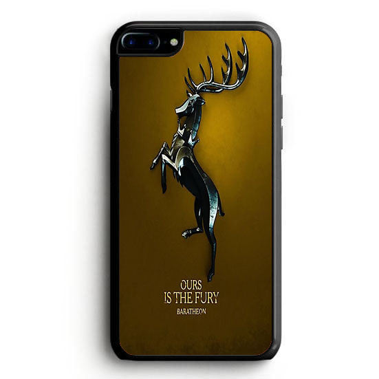 Game of Thrones Ours is the Fury iPhone 7 Plus | yukitacase.com