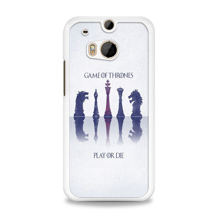 Game of Thrones Play or Ride HTC One M8 | yukitacase.com