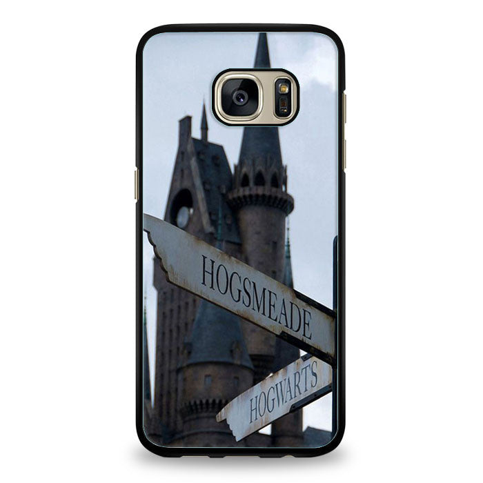 Harry Potter Hogsmeade or Hogwarts Samsung Galaxy S6 Edge | yukitacase.com