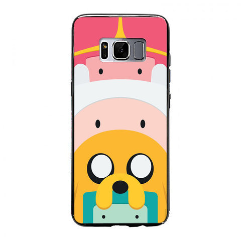 Adventure Time Characters Samsung Galaxy S8 Case | yukitacase.com