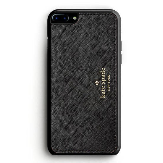 Kate Spade Black Bag iPhone 6 Plus | yukitacase.com