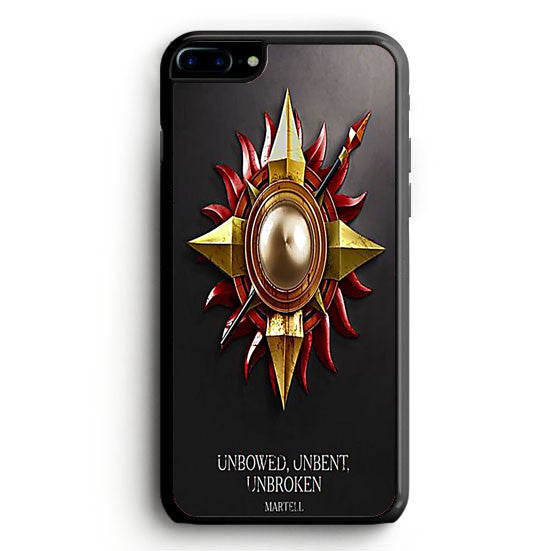 Game of Thrones Unbowed unbent Unbroken iPhone 7 | yukitacase.com