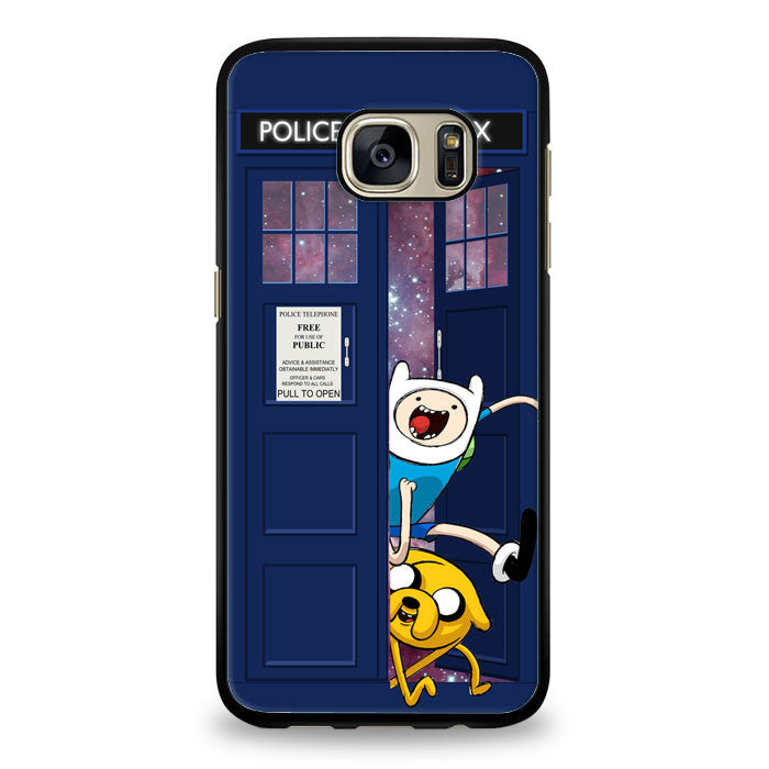 Adventure Time Characters Samsung Galaxy S7 Edge Case | yukitacase.com