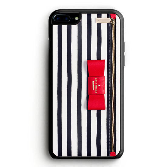 Kate Spade Wallet Red Ribbon iPhone 7 | yukitacase.com