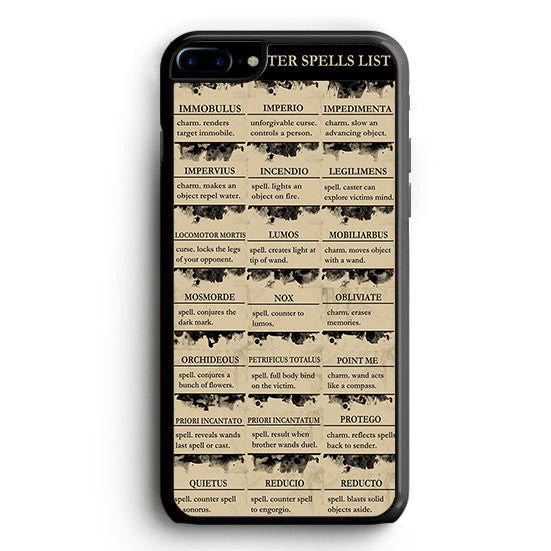 Harry Potter Spells List Lumos iPhone 6S Plus | yukitacase.com