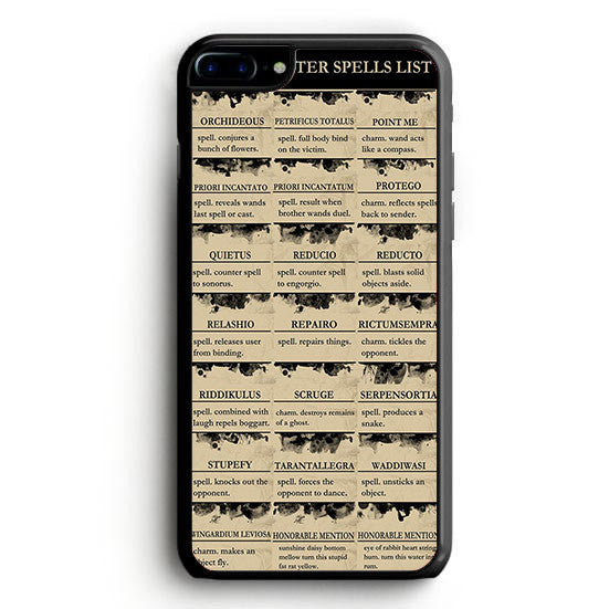Harry Potter Spells List Riddikulus iPhone 7 | yukitacase.com