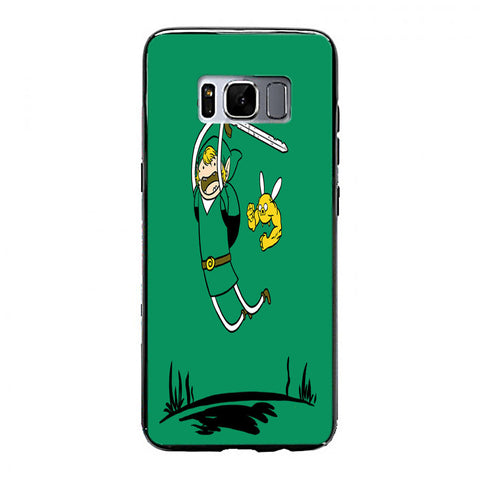 Adventure Time Zelda Samsung Galaxy S8 Plus Case | yukitacase.com