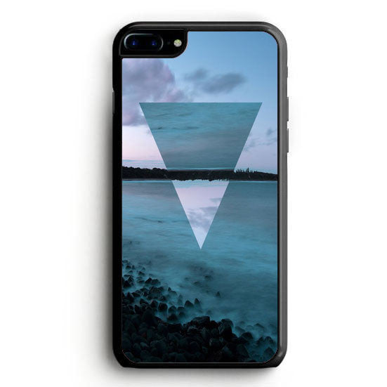 Geometry and Photography Sea Combine iPhone 6S Plus | yukitacase.com