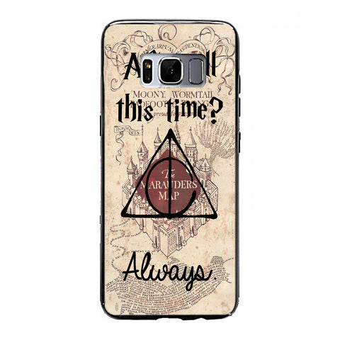 After all this time always quote harry potter Samsung Galaxy S8 Case | yukitacase.com