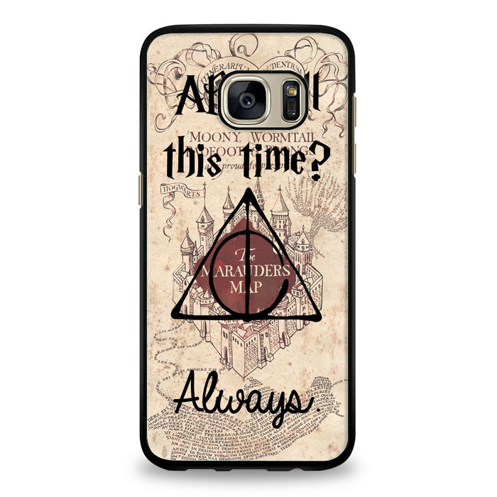 After all this time always quote harry potter Samsung Galaxy S7 Edge Case | yukitacase.com
