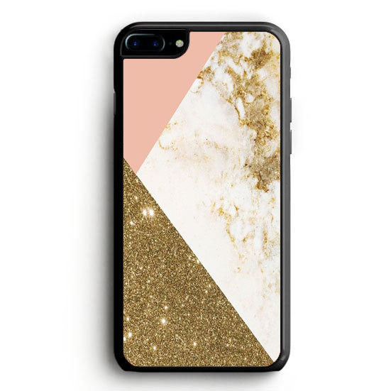 Gold Foil Marble iPhone 7 | yukitacase.com