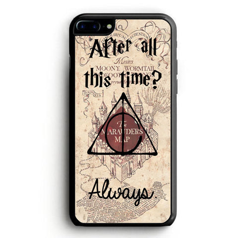 After all this time always quote harry potter iPhone 7 Plus Case | yukitacase.com